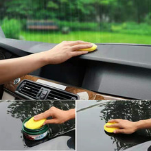 High quality polished car car waxing sponge car care tool accessories polishing