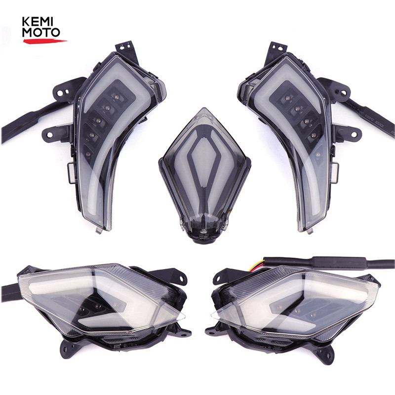 For Tmax 530 Led Turn Signal Light Rear Tail Brake Light Turn Signal Taillight For YAMAHA Tmax530 T-Max530 201213 2014 2015 2016