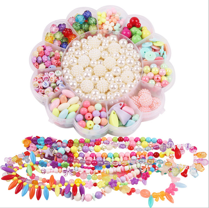 Kindergarten Toy Children'S Educational Early Childhood Bead Toy DIY Material Box
