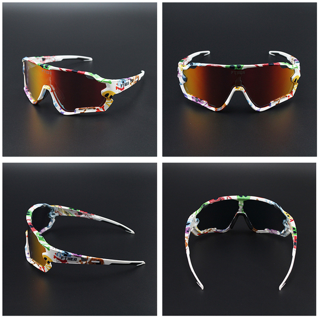 2020 New sports items men&women Outdoor Road Mountain Bike MTB Bicycle Glasses Motorcycle Sunglasses Eyewear Oculos Ciclismo 4