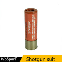 Militar munição arma shotgun 4 peças abs tático saco de substituição saco molle para cartuchos munição