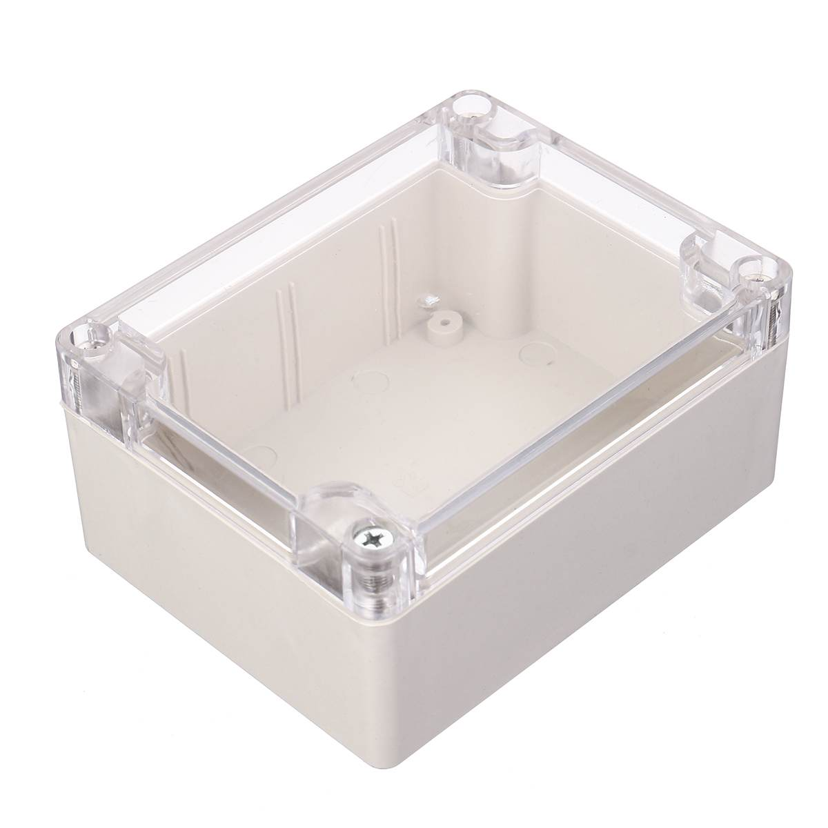 115*90*55mm Plastic Clear Cover Project Electronic Box Enclosure Cases Waterproof
