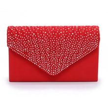 2019 Luxury Bags for Women Female Womens Clutch Purse Wallet Party Bag Envelope Bridal Wedding Everning Handbags bolsa feminina