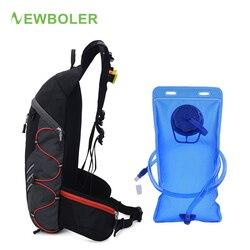 NEWBOLER torba na rower 10L plecak na rower oddychający ultra lekki rower górski rower torba na wodę wspinaczka turystyka Hydration wodoodporny plecak