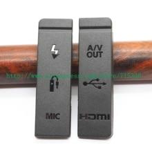 (Di alta qualità) NUOVO USB/HDMI DC IN/VIDEO OUT Sportello di Gomma Coperchio Inferiore Per Canon EOS EOS 5D Mark II /5DII/5D2 Fotocamera Digitale
