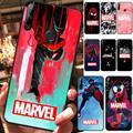 Модный популярный чехол для телефона MARVEL для Huawei Y5 II Y6 II Y5 Y6 Y7Prime Y9 2018 2019