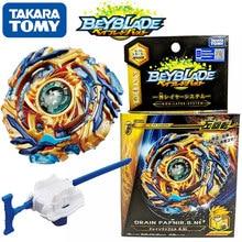 Takara tomy starter drain fafnir. 8.nt B-79 esquerda rotação com lançador beyblade ser lâmina superior spinner brinquedo para crianças