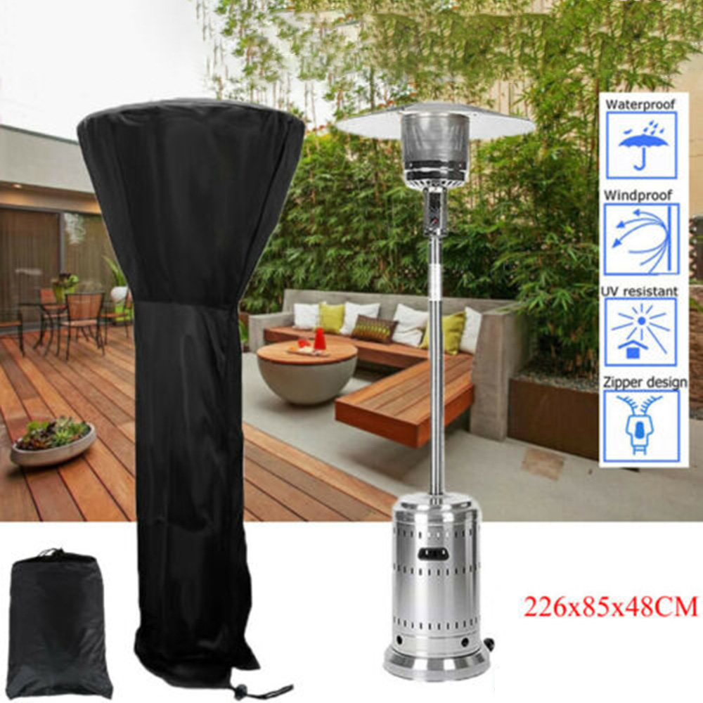 Patio Heater Cover Weatherproof Outdoor Protector Bag Dustproof  Waterproof Cover Protective Cover For Patio Heater T
