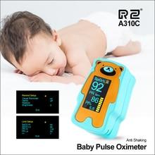 RZ Oximeter Child Portable Finger Oximeter Fingertip Pulse Oximeter Household Health Monitors Heart Rate PR SPO2  Baby Oximeter