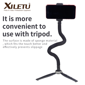 Image 3 - XILETU S 1Multifunctional Extended Expansion bracket with 1/4 Screw Screw Hole for Phones Cameras LED Light Macro photography