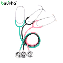 Double sided Medical Cardiology Doctor Stethoscope Professional Medical Heart Stethoscope Nurse Student Medical Equipment Device