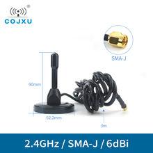 24ghz wifi antenna high gain 5dbi cojxu tx2400 tb 300 sma j