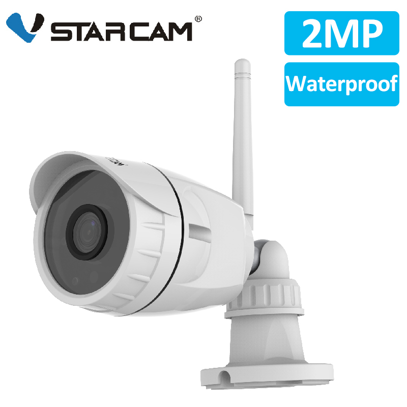 Vstarcam 1080P 2MP IP Camera Wifi Outdoor Camera IP66 Waterproof Security Surveillance Camera IR-Cut CCTV Bullet IP Camera C17S