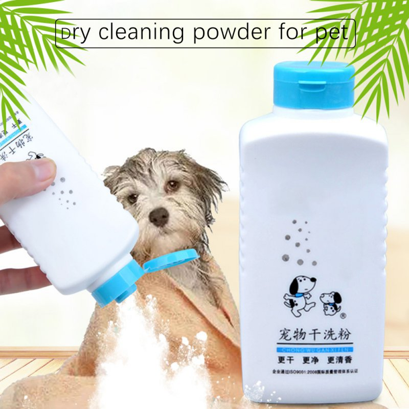 New Antibacteriano Disinfection Pet Dry Cleansing Powder Disposable Shower Gel For Dogs Shampoo Pet Dog Cleaning Supplies//