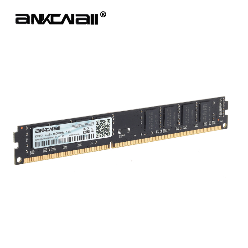 ANKOWALL DDR3 Desktop RAM with 2GB/4GB Capacity and 1866MHz/1600Mhz Memory Speed 11