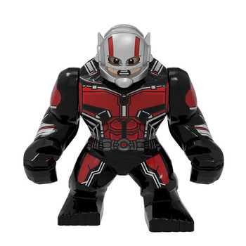 BIG Size Character Captain America Thor Iron Man Dr Strange Loki Hulk Thor Thanos Dealpool Model Figure Blocks Toys For Children 2