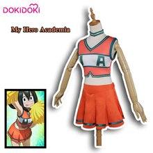 DokiDoki Anime Cosplay My Hero Academia Boku No Costume Cheerleader Uniform Girls