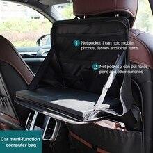 Storage-Bag Desk-Bracket Table Laptop-Holder Computer Car-Back-Seat Food-Tray