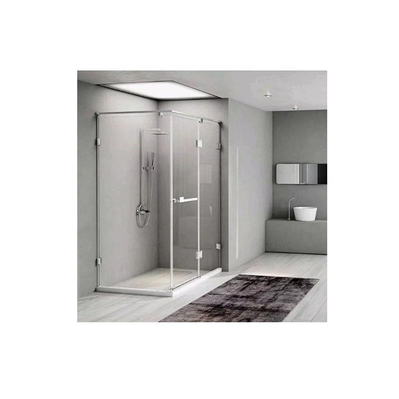 Light luxury diamond shape single door push pull shower room overall toile-0
