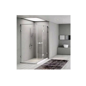 Light luxury diamond shape single door push pull shower room overall toile
