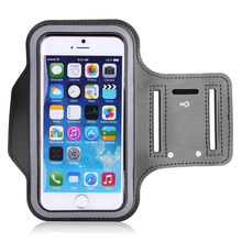 Universal Sport Arm Band for IPhone X 6 7 8 xs xr For Huawei For Xiaomi redmi Sport Armband Belt GYM Bag Phone Cases 5.5 inch(China)