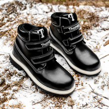 kids shoes children winter martin shoe boy Add wool to keep warm snow boots sneakers