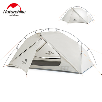 Naturehike Tent VIK 1 Person Tent Ultralight Outdoor Waterproof Camping Tent Lightweight Backpacking Tent Hiking Travel Tent naturehike 1 2 man camping tent outdoor 1 2 person ultralight hiking camp tents 1 25kg pu 4000mm