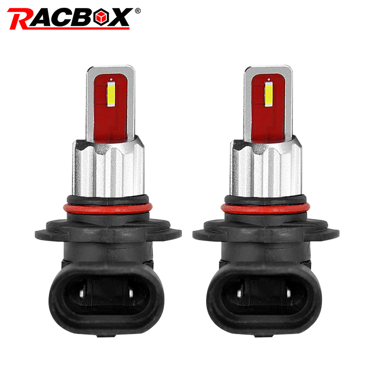 A pair H1 <font><b>H7</b></font> H8 H11 Car mini LED Fog light Bulbs HB3 9005 HB4 9006 <font><b>2000LM</b></font> DRL 6000k White Yellow auto Driving Light 12V 24V image