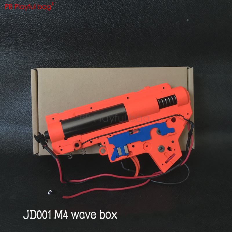 Playful Bag M4 Electric Water Bullet Gun Wave Box CQB Toy Gun Transmitter 460 Motor 16400 Rpm NA56
