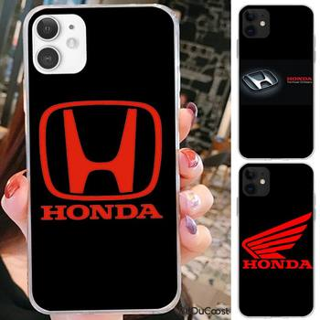 Riccu Honda Soft Cover Case Phone Case For iPhone 7 8 Plus X XS Max XR Coque Case For iphone 5s SE 2020 6 6s 11Pro 12 image