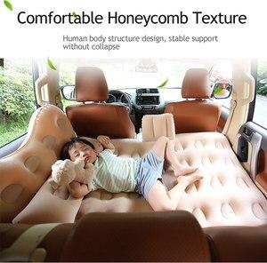 Image 1 - Fresh Car inflatable bed travel mattress car child rear exhaust pad car rear seat car
