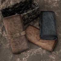 quality Business Phone Wallet Luxury Brand Big Capacity Coin Purse Smart Long Zipper Wristlet Male Wallet Men Clutch Bag