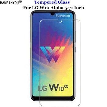 Перейти на Алиэкспресс и купить Для LG W10 Alpha жесткое твердое прозрачное закаленное стекло 9H 2.5D Премиум Защитная пленка для экрана для LG W10Alpha 5,71дюйм