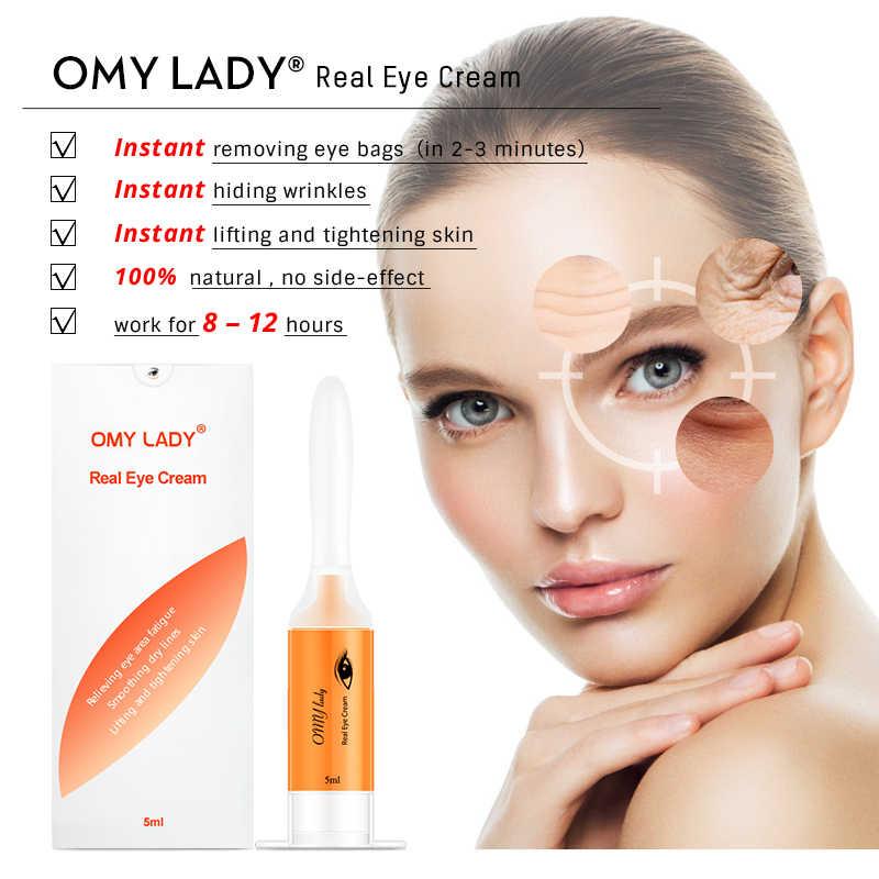 Omy Wanita Krim Mata Instan Menghapus Kantung Mata Firming Eye Anti Bengkak Lingkaran Hitam Di Bawah Mata Anti Kerut Anti Usia Perawatan Mata