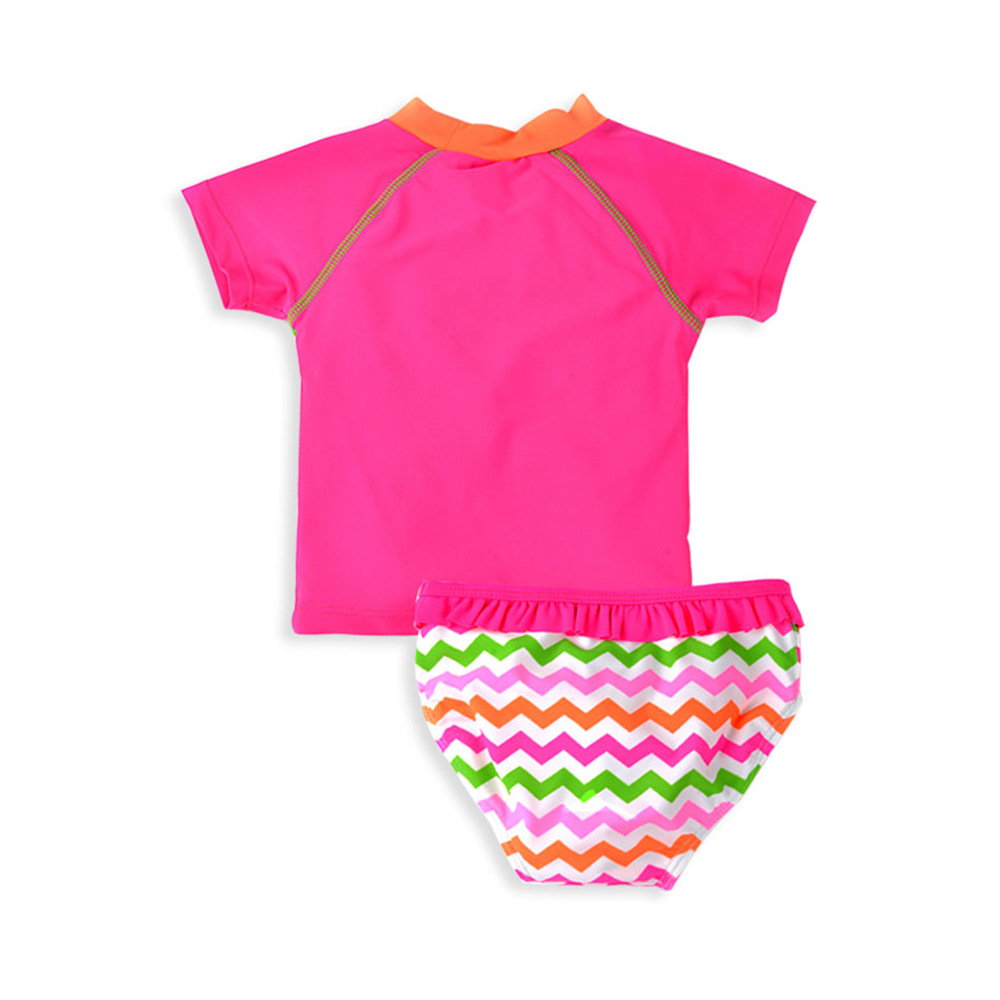 Micro For 2019 New Products KID'S Swimwear Europe And America Summer Quick-Drying Split Type Two-Piece Set Infant Baby Girls Tou