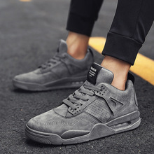 Fashion Sneakers Men High Quality Lace-up Canvas Shoes High top