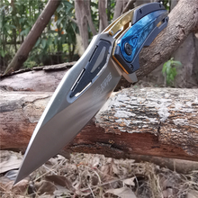 Folding Pocket Knife Multi function Portable Cutter Tools Knives Good for Hunting Camping Survival Outdoor and Everyday Carry