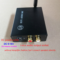 5 3 CSR8675 APTX HD Bluetooth 5.0  Fiber  Coaxial 3-Channel Input Decoder PCM5102A DAC Audio Decoding 8-15V DC (4)