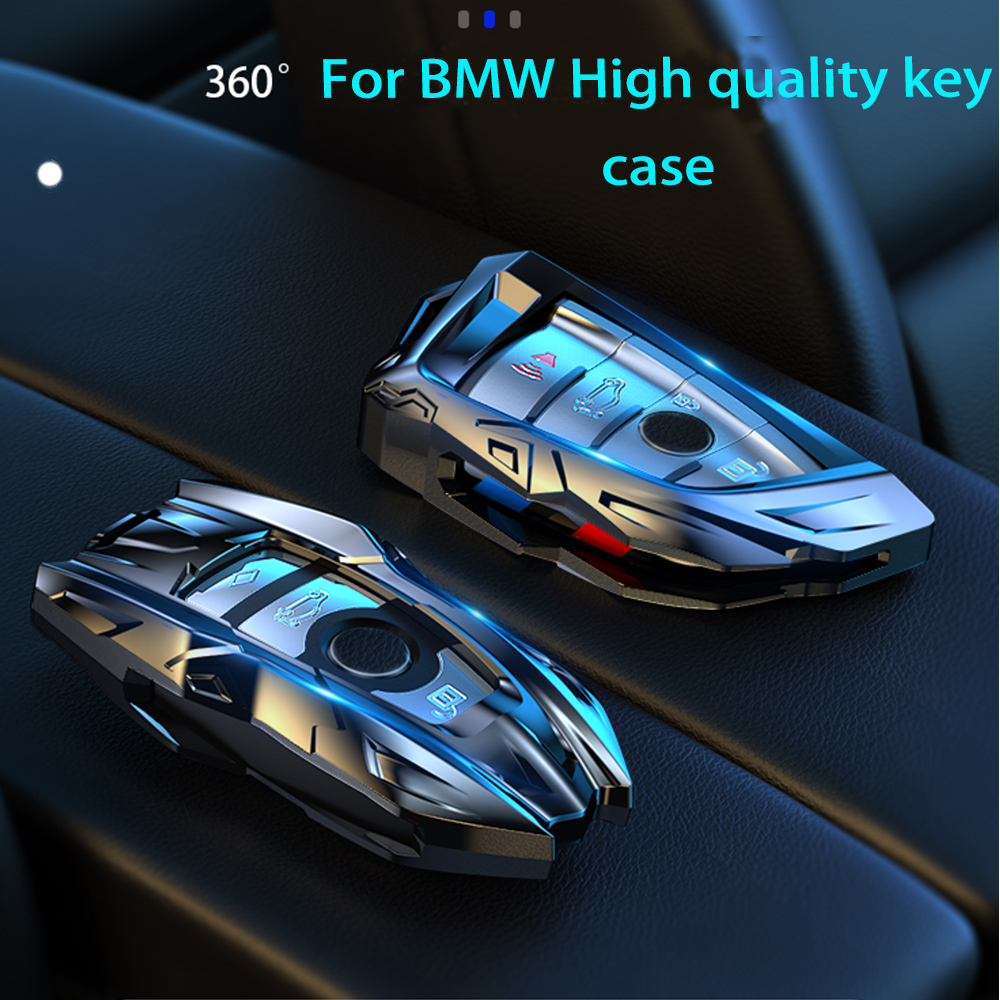Zinc Alloy Car Key Case Cover For BMW X1 X3 X5 X6 Series 1 2 5 7 F15 F16 E53 E70 E39 F10 F30 G30 Car Key Shell Protecor