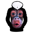 Orangutan 3D Hoodies...