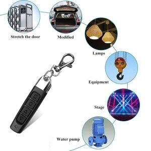 Image 5 - Kebidu 4 Knoppen Garagepoort Deur Afstandsbediening Sleutel 433 Mhz Auto Klonen Afstandsbediening Elektrische Copy Controller Zender Schakelaar