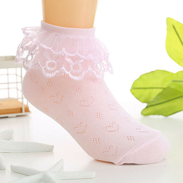 Toddlers Girls Lovely Lace Socks  5