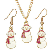 Kettingen Chain Moana Tin Chains Necklaces Women Crystal Choker Collares 2019 New Snowman Christmas Suit