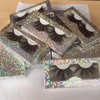 BossGirl Lashes fluffy mink lashes eyelashes bulk mink eyelashes 25 mm lash vendors with cute box packaging free fast shipping