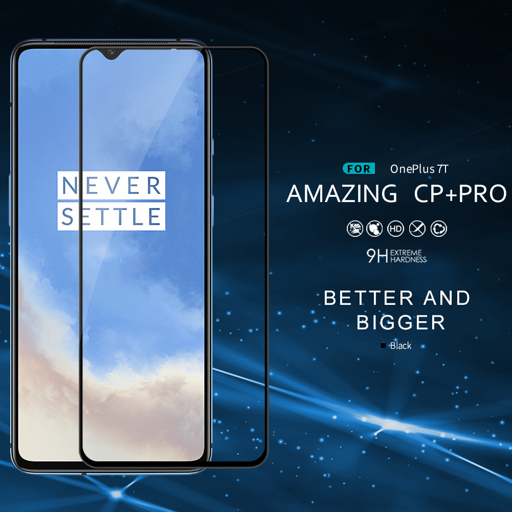 NILLKIN для OnePlus 7T стекло Amazing CP + Pro Анти-взрыв Закаленное стекло протектор экрана для OnePlus 7 T/1 + 7T
