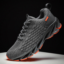 New Breathable Mesh Men Shoes Lightweight Comfortable Sneakers Fashions Lace Up Casual Flat Zapatillas Hombre