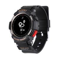 Ao ar livre relógio inteligente homem ip68 à prova dip68 água monitor de freqüência cardíaca esporte rastreador de fitness para android ios|Relógios inteligentes| |  -