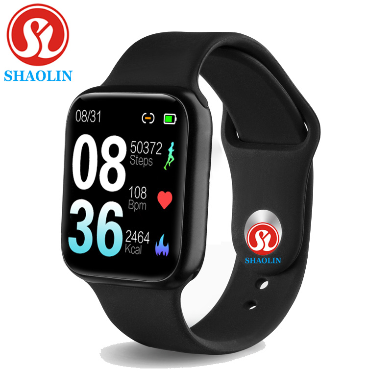 38mm Waterproof Bluetooth Smart Watch Man Woman SmartWatch for Apple Watch iOS Android Phone Heart Rate Blood Pressure pk IWO 12 image