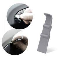 FOSHIO Vinyl Car Wrap Micro Stick Squeegee Scraper Carbon Fiber Film Sticker Wrapping Tool Auto Window Tint Clean