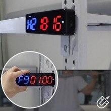 Chronomètre de Fitness à Led, 1 pouce, sans fil, Bluetooth, avec minuterie d'entraînement, F22 21